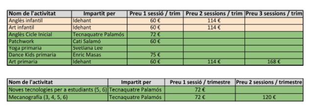 preusextraescolars2016-17